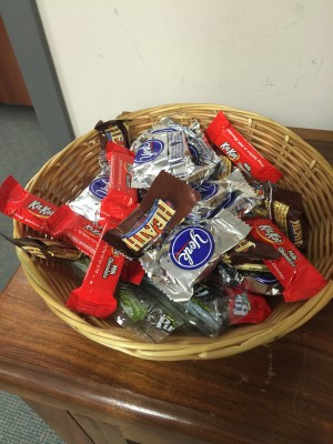 The bottomless candy bowl.