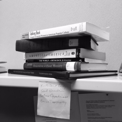 Books. Theories. Thoughts. Lists. (2016)
