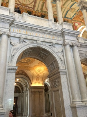 The Library of Congress is full of amazing architecture.
