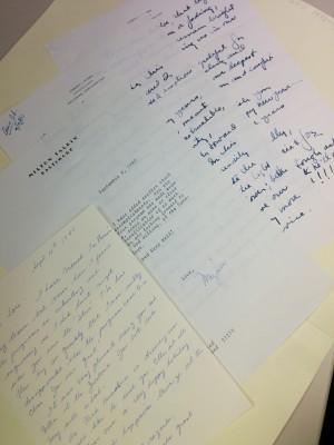 "The Louis Kaplan Papers ""Fan Letters""1994.205.437"