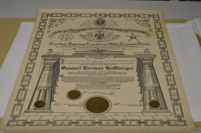 Masonic Award