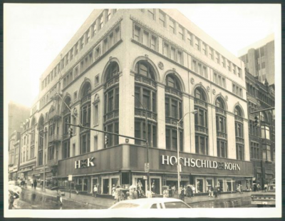 Hochschild Kohn was the first department store to integrate in Baltimore.