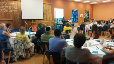 Day One at Beth El Congregation