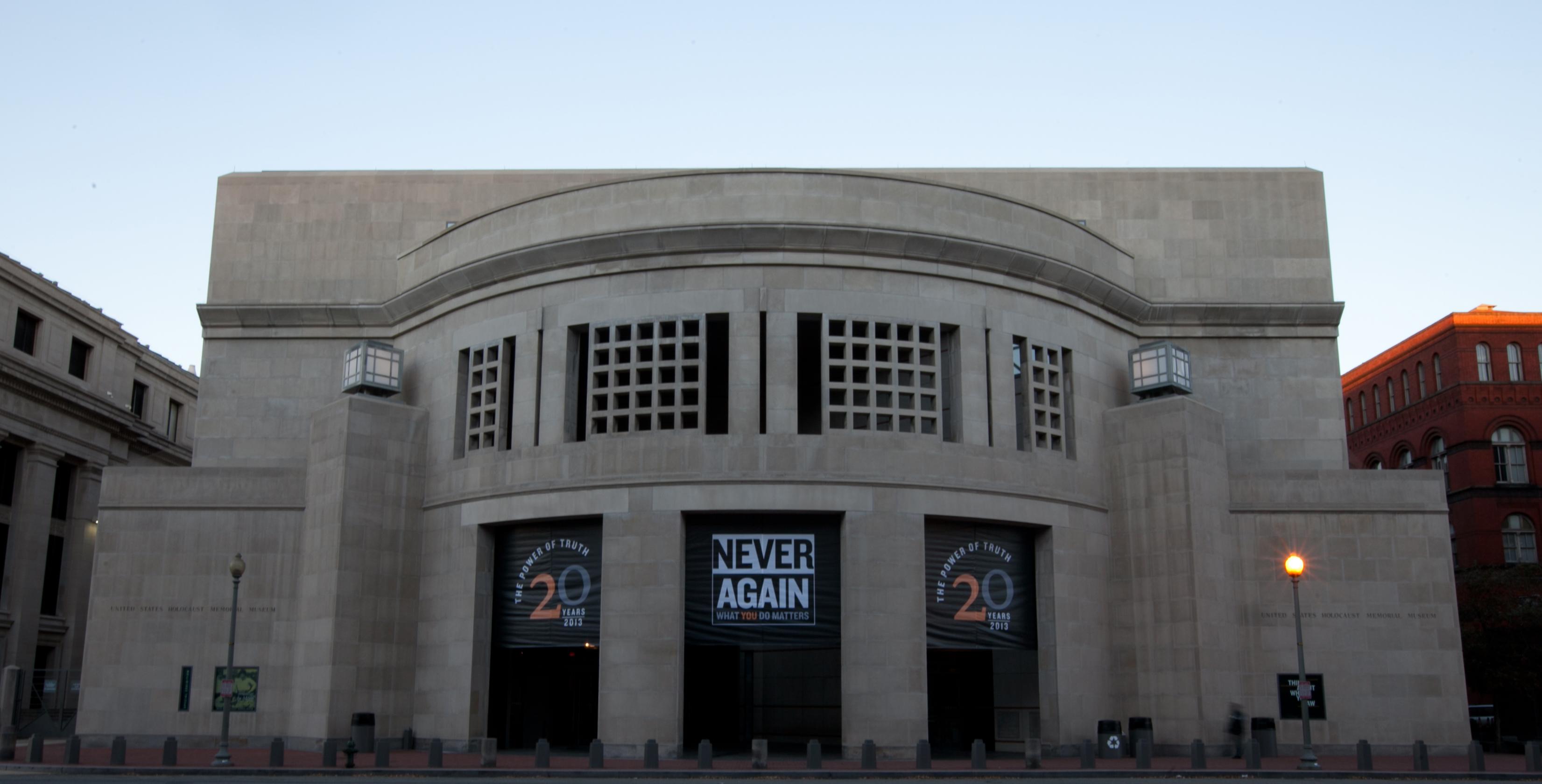 The United States Holocaust Memorial Museum in D.C.