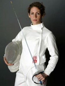 American Sada Jacobson won three of the 51 fencing medals going to Jewish athletes from across the globe.