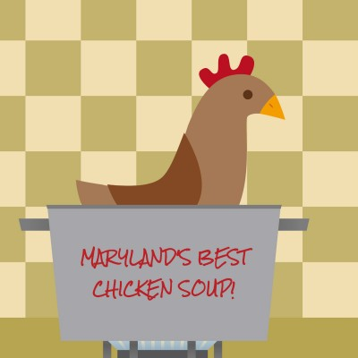 CHicken Soup Image with text