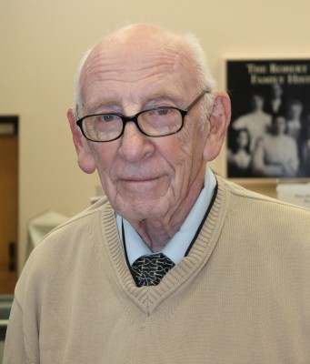 Archives Volunteer Irv Weintraub