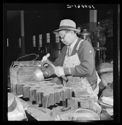 African American 1940s Washington DC Scrap Processing