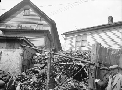 Scrap Yard, Milwaukee, 1936