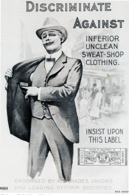 Ad for United Garment Workers of America. JMM 1990.92.1