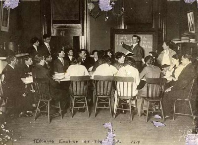 JEA English class, 1919. JMM 1992.231.73