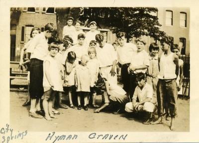 JEA children at City Springs Park, JMM 1992.231.302