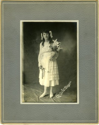 Rose Zetzer, at the time of her graduation from Eastern High School. Photograph by Columbia Art Studio, Co. JMM 1998.86.112