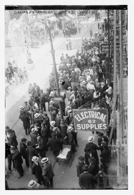 Garment Workers' Strike, July 1915. Courtesy of the Library of Congress.
