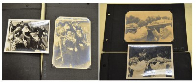 Two of the loose photos next to their matching album photos. Success! Anonymous gift. JMM 1998.47.4.34 and .74; 1998.47.4.30 and .85