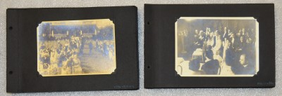 Two albums, two weddings. Anonymous gift. JMM 1998.47.4.63-.85 and 1998.47.4.37-62