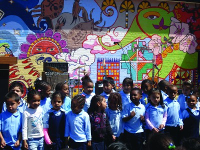 "CHAI works to improve neighborhood schools. ""Good schools strengthen communities and we all have a stake in education"" - Ken Gelula. Photo courtesy of The Associated: Jewish Community Federation of Baltimore."