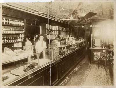 Harry Cohen's delicatessen in East Baltimore (1400 block of E. Baltimore Street), 1919. Gift of Sidney Cohen, JMM 1988.132.1