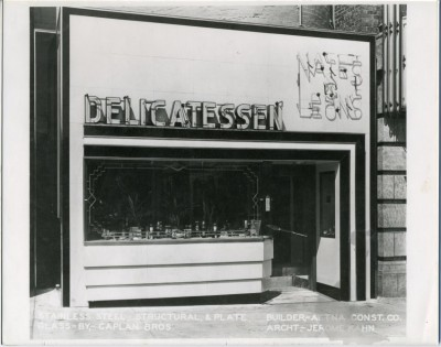Nate's and Leon's Delicatessen., c. 1945. JMM 1992.53.18