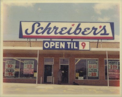 Schreiber's Grocery, 1959. JMM 1998.16.2