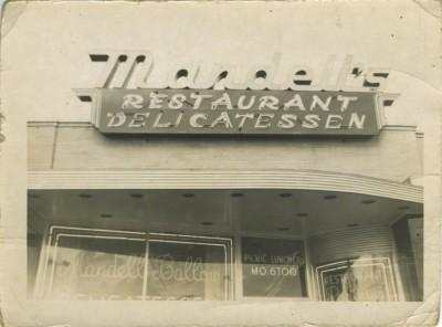 """Mandell's Delicatessen""; c. 1950s. JMM 1998.16.13"