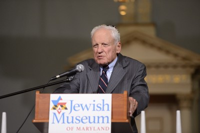 One particularly successful joint program was developed in partnership with the Associated: Jewish Community Federation of Baltimore, an October event that was billed as a Jewish Baltimore Family Reunion. Alfred Moses delivered a talk in the Lloyd Street Synagogue based on his book about his family's business.