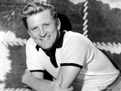 A young Kirk Douglas