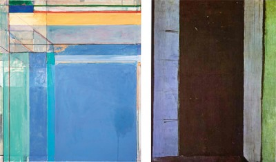 Ocean Park Series 79 (1975) and French Window At Collioure (1914)