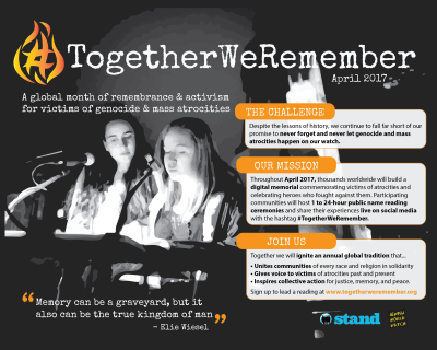 #TogetherWeRemember Campaign