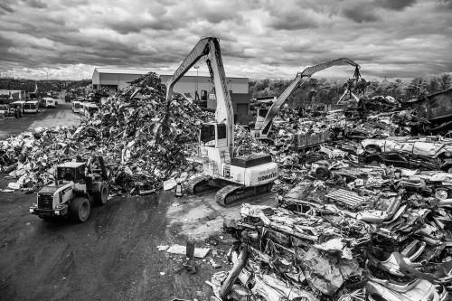 Gershow Recycling facility. Photo by Jeffrey Katz.