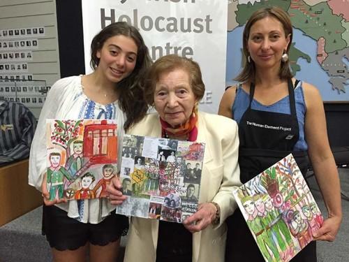 Holocaust Memory Reconstruvtion participants.
