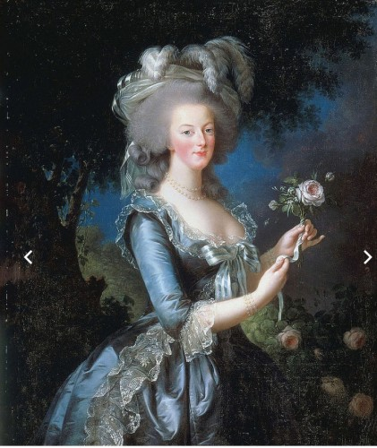 "Example of one of Elisabeth Louise Vigée Le Brun's works discussed in her episode, ""Marie Antoinette With a Rose"" (1783)"