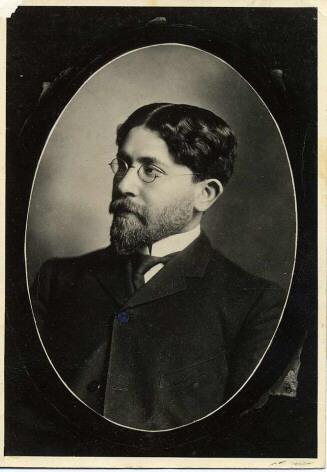 Dr. Samson Benderly 1900 (Age 24). JMM 1974.8.2