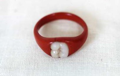 """Tooth"" Engagement Ring (1991.035.024)"