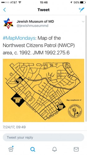 Map Mondays is just one of several series of tweets the JMM sends out every week!