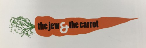 "The ""Contemporary Voices"" pieces were originally published in the Jew and the Carrot Website."
