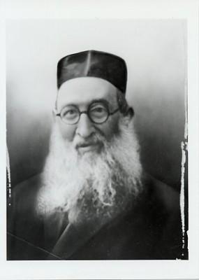 Rabbi Abraham Schwartz (1871-1937). JMM 1976.1.1