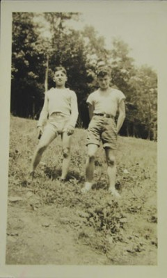 Two campers at Camp Moshava Labor Zionist Camp.Gift of the Beser Family,  JMM 1993.173.62
