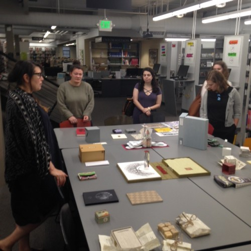 Visiting the MICA art library
