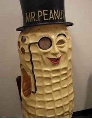 Bonus Mr. Peanut!
