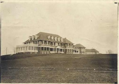 Suburban Club building, March, 1909. JMM 1985.90.20