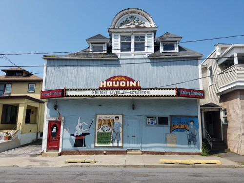 The  Houdini Museum in Scranton, PA