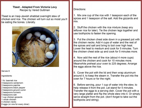 Want to give it a try yourself? Here's the recipe Vered shared with us!