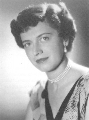 Mitzi Freishtat in 1947. Courtesy of Mitzi Freishtat Swan.