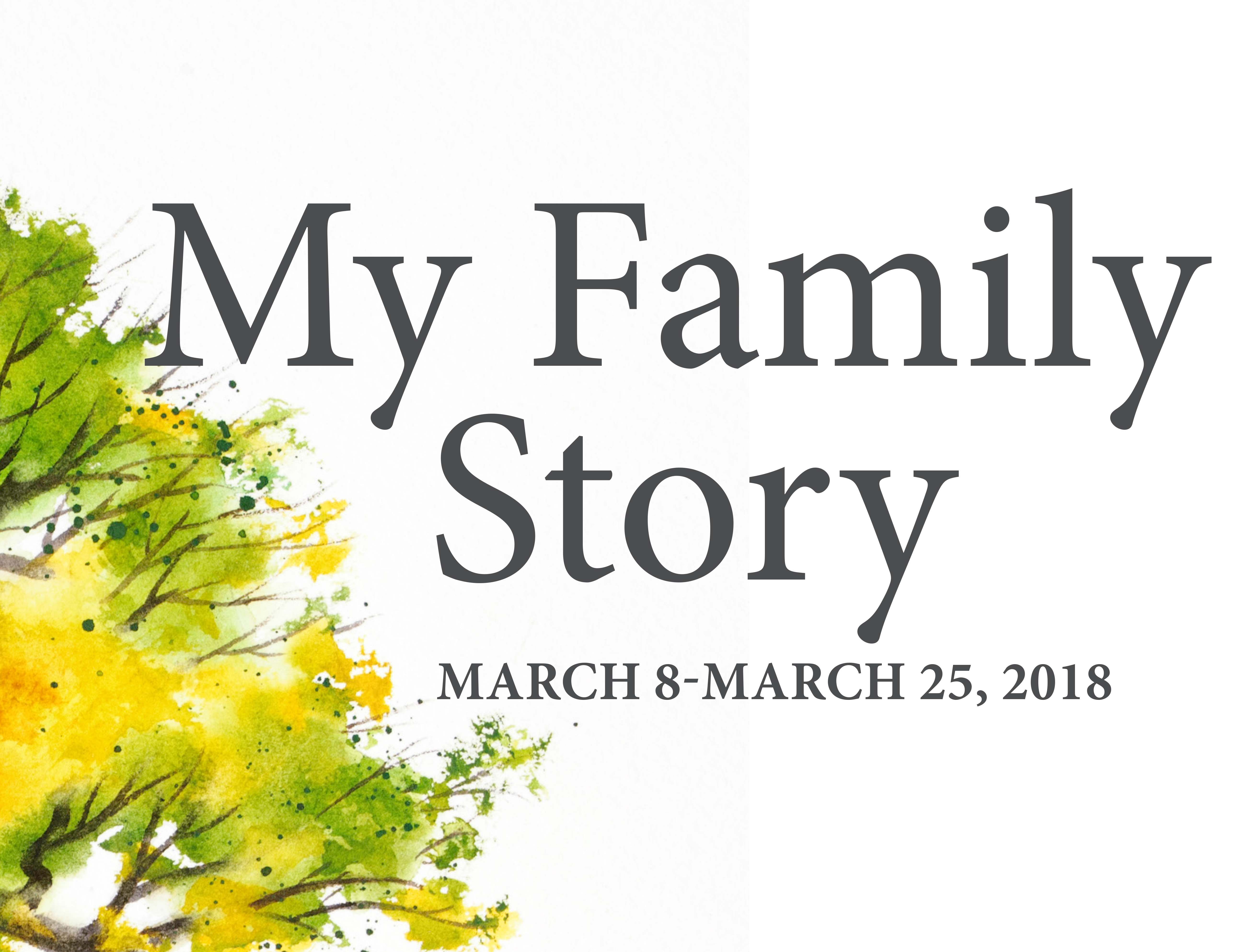 Judging my family story