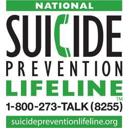 Logo for the National Suicide Prevention Lifeline