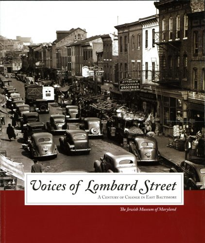 Cover of the Voices of Lombard Street exhibit brochure