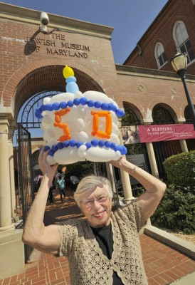 Marna helped us celebrate at the Museum's 50th birthday a few years ago!