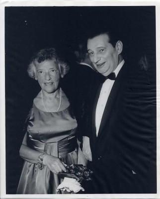 Dr. Joseph Schwartz and his wife Dora.