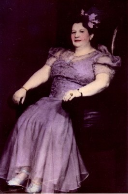 Bessie Bluefeld, February 23, 1941. JMM 2012.10.1